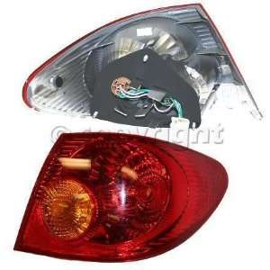 TAIL LIGHT toyota COROLLA 03 04 lamp rh Automotive