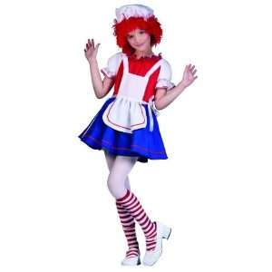 Deluxe Rag Doll / Raggedy Ann Child Costume Toys & Games