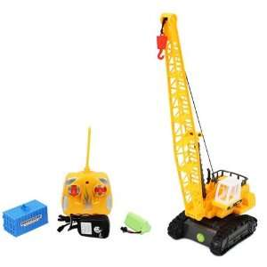 Electric 150 King Force Mobile Tractor Crane RTR RC Construction