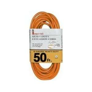 IMPERIAL 71641 HEAVY DUTY EXTENSION CORDS 50 12/3