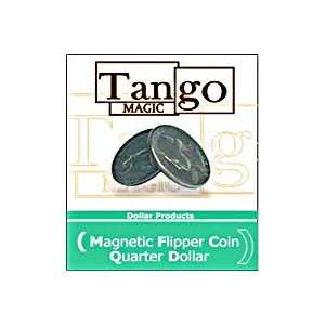 Flipper Quarter Magnetic   Tango   Money Magic Tri Toys