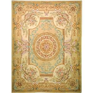 Safavieh   French Tapis   FT223A Area Rug   2 x 3   Soft Green