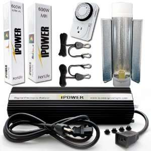 MH Grow Light System with Air Cooled Tube. Best 600 watt hydroponic