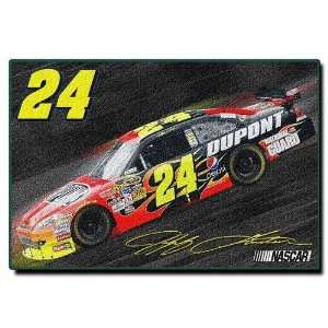 Jeff Gordon Nascar Tufted Rug (59x39)