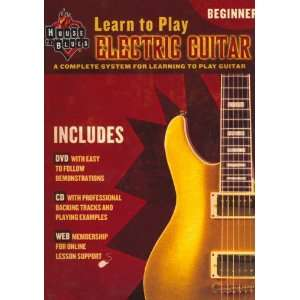Learn To Play Electric Guitar, Beginner Level Musical Instruments
