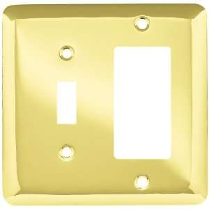 Liberty Hardware 64364 Stamped Round Single Switch/Decorator Wall