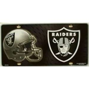 Oakland Raiders NFL Football License Plate Plates Tags Tag