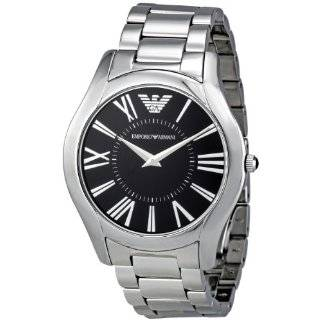 Emporio Armani Mens AR2023 Classic Stainless Steel Bracelet