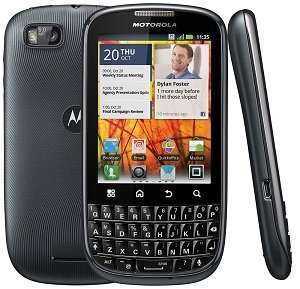 Motorola MB632 Android Unlocked GSM Phone (Black) Cell