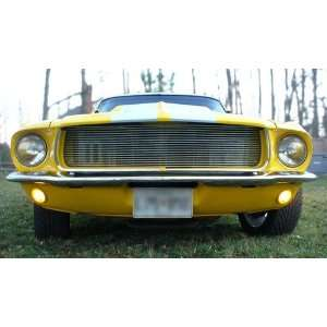 New Ford Mustang Billet Grille   Polished 67 68 Automotive