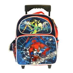 SpiderMan Small BackPack   Spider Man Small Rolling School