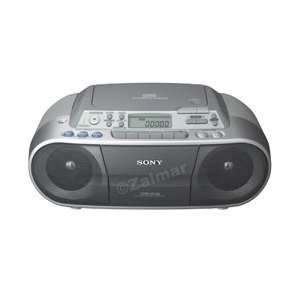 Sony CD Radio Cassette Recorder in Silver Electronics