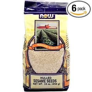 NOW Foods Sesame Seed Hulled, 16 Ounce Grocery & Gourmet Food