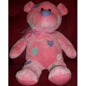 17 Plush Pink Valentine Teddy Bear Be Mine Doll Toy Toys