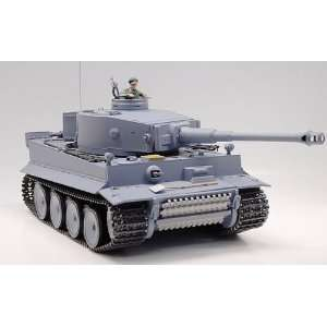 RC German Tiger I Tank Remote Control w/ Sound and Smoke Toys & Games