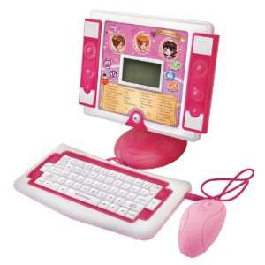 Desktop Computer   Multifunctional Learning Computer   Pink Toys