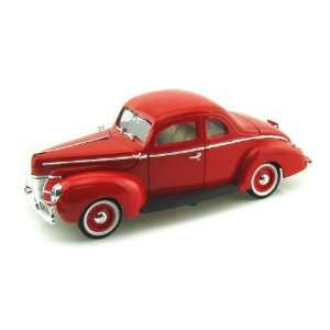 1940 Ford Coupe 1/18 Red Toys & Games