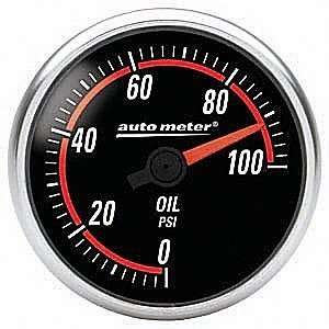 Auto Meter 6453 Nexus Full Sweep Electric Oil Pressure