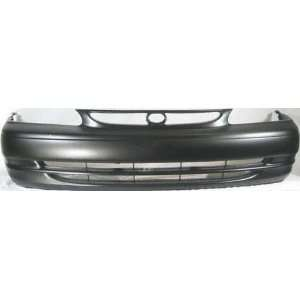 98 00 TOYOTA COROLLA FRONT BUMPER COVER, Raw (1998 98 1999