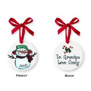 personalized special grandfather ornament