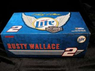 NASCAR ACTION RACING 2 RUSTY WALLACE MILLER HARLEY