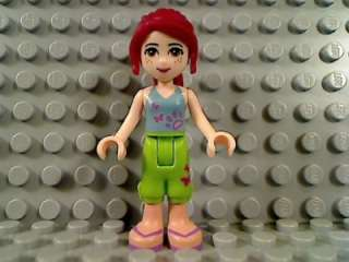 LEGO Friends MIA Female Girl Freckles Minifigure 3188 Heartlake Vet