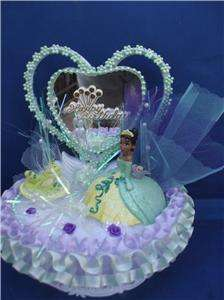 DISNEY PRINCESS+FROG BIRTHDAY CAKE TOP/TOPPER