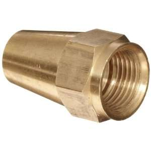 Anderson Metals Brass Tube Fitting, Long Flare Nut, 5/16