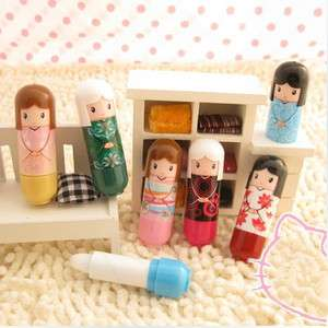 Lovely Japan Prayers Doll Design lipstick lip protector