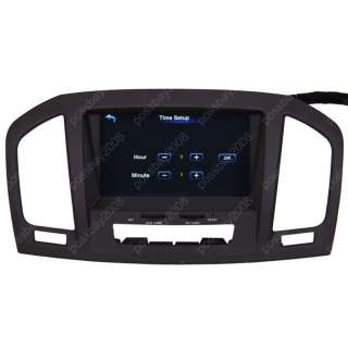 2009 11 Opel Insignia Car GPS Navigation TV DVD Player