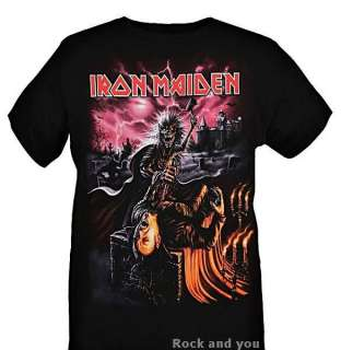 Iron Maiden Dracula Killer metal rock T Shirt L XL 3XL NWT
