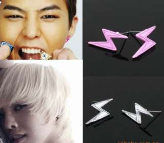 KOREAN BIGBANG G Dragon Earrings lightning 3 color DE03