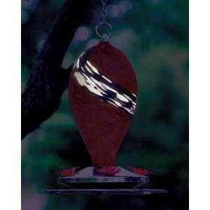 Illuminarie Red Top Glowing Hummingbird Feeder