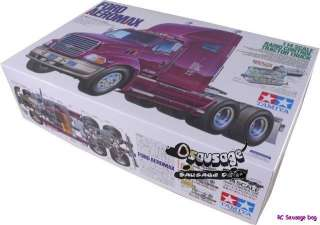 Tamiya 1/14 R/C FORD AEROMAX Tractor Truck Model Kit 114