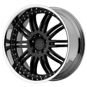 KMC Dime (Gloss Black / Machined) Wheels/Rims 6x139.7 (KM12728568538